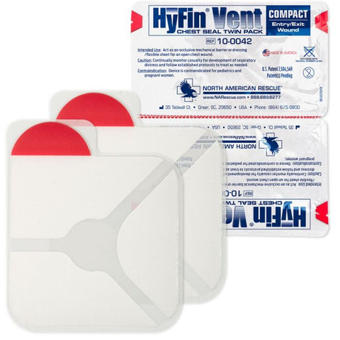 Hyfin Chest Seal, Twin Pack