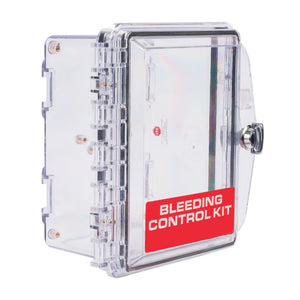 Bleeding Control Clear Wall Mount Case
