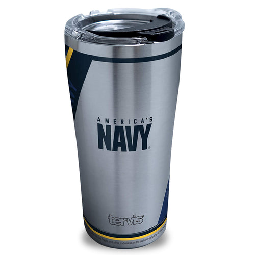 NAVY FOREVER PROUD TERVIS STAINLESS STEEL 20OZ TUMBLER
