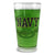 Navy Anchor Pint Glass