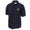 NAVY EAGLE ANCHOR PIQUE POLO