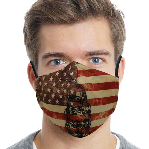 Don't Tread On Me Face Mask-Single or 3 Pack