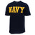 Navy Logo Core USA Made T-Shirt (Navy)