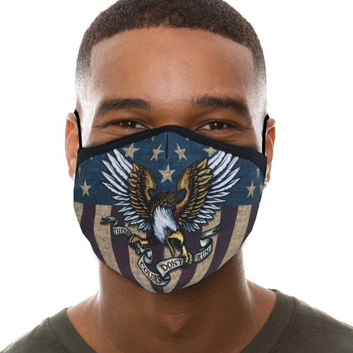 Eagle Banner Face Mask-Single Or 3 Pack