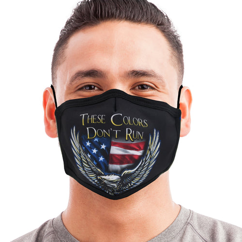 These Colors Don't Run Face Mask-Single or 3 Pack