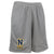 Navy Champion Lacrosse Logo Mesh Short