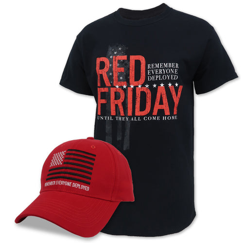 R.E.D. Friday T-Shirt And Hat Combo