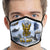 U.S. Navy Action Face Mask (Blue)-Single or 3 Pack