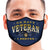 U.S. Navy Veteran I Served Face Mask (Navy)-Single or 3 Pack
