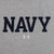 Navy Under Armour Performance Cotton T-Shirt (Silver Heather)