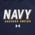 Navy Under Armour 2C Anchors Aweigh Armour Fleece Hood (Navy)