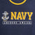 Navy Under Armour Gameday Double Ringer T-Shirt (Navy)