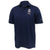 Navy Under Armour Sideline Elevated Polo (Navy)