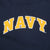 Navy Ladies Tackle Twill Fleece Stripe Hood (Navy)