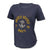 Navy Ladies Under Armour Breezy V-Neck T-Shirt (Navy)