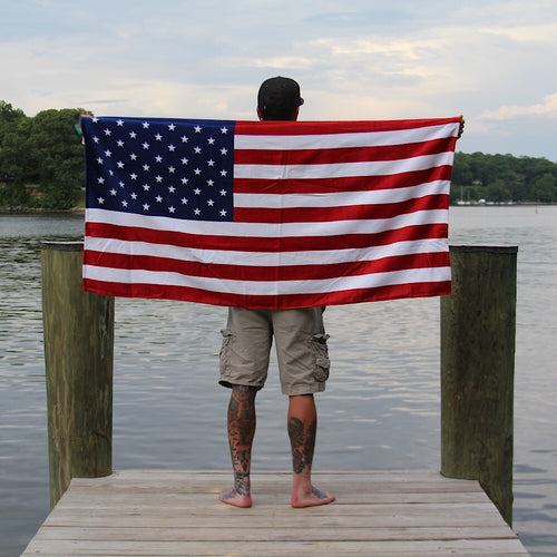 AMERICAN FLAG BEACH TOWEL (30