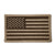 AMERICAN FLAG VELCRO PATCH (TAN)