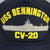 NAVY USS BENNINGTON CV-20 HAT 1