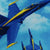 "BLUE ANGELS BEACH TOWEL (30""X60"")"