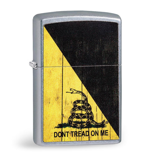 DON'T TREAD ON ME CHROME ZIPPO LIGHTER 2