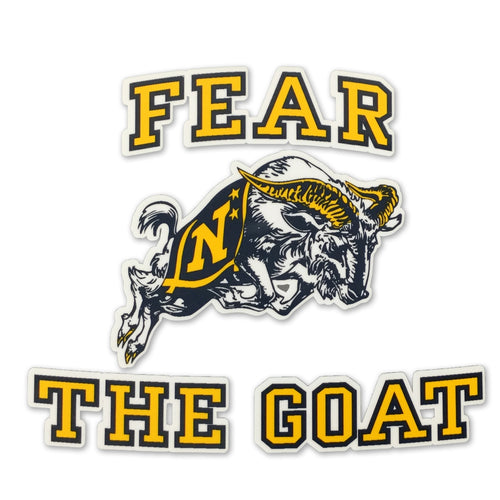 FEAR THE GOAT DECAL 1