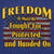 FREEDOM REAGAN QUOTE T-SHIRT 4