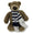 NAVY 14 INCH ARCHIE BEAR WITH SCARF (BROWN)