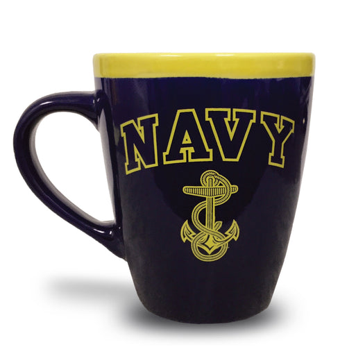 NAVY 18OZ COFFEE MUG 2
