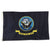 NAVY 2 SIDED EMBROIDERED FLAG (3'X5') 2