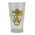 NAVY ANCHOR PINT GLASS 1