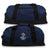 NAVY ANCHOR DOME DUFFEL BAG (NAVY)