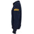 NAVY ANCHOR EMBROIDERED FLEECE 1/4 ZIP (NAVY) 1