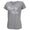 NAVY ANCHOR LADIES MOM V-NECK T-SHIRT (GREY) 2