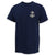 NAVY ANCHOR LOGO T-SHIRT (NAVY)