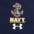 NAVY ANCHOR UNDER ARMOUR TECH POLO (NAVY) 1