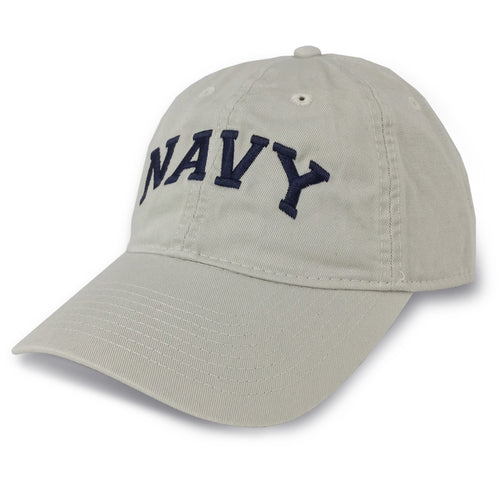 NAVY ARCH LOW PRO HAT (STONE) 4