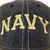 NAVY ARCH TRUCKER HAT