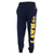 NAVY CHAMPION FLEECE BANDED SWEATPANTS (NAVY)