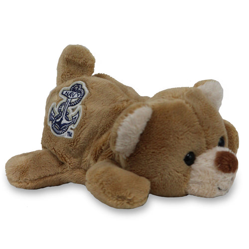 NAVY CHUBLET BEAR (5 INCHES)