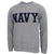NAVY CORE CREWNECK (GREY) 1