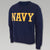 NAVY CORE CREWNECK
