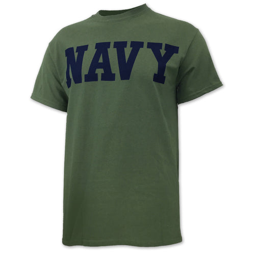 NAVY CORE T-SHIRT (OD GREEN) 4