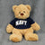 NAVY CUDDLE BUDDIES BEAR (BROWN) 1