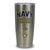 NAVY DAD STAINLESS STEEL TUMBLER (SILVER) 1