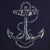 NAVY DISTRESSED ANCHOR LONG SLEEVE HOODIE T (NAVY) 2