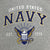NAVY EAGLE EST. 1775 CREWNECK SWEATSHIRT (GREY) 1