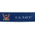 NAVY REVERSIBLE LANYARD