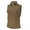 NAVY FLEECE VEST (TAN)