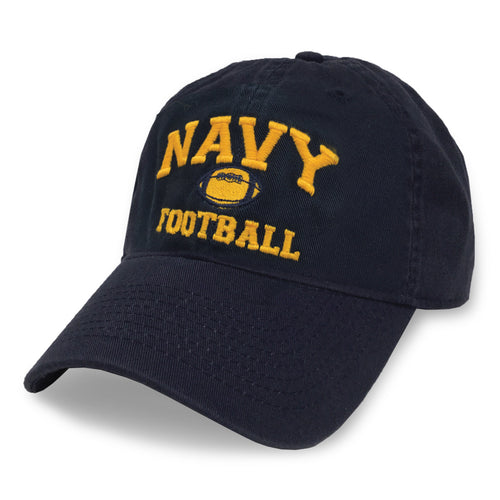 NAVY FOOTBALL TWILL HAT (NAVY) 4