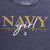NAVY GIRL LADIES 3/4 SLEEVE T-SHIRT (NAVY)
